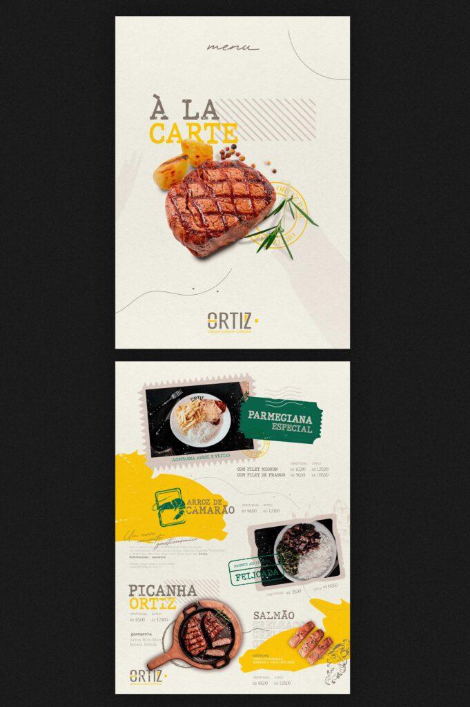 Restoran Menüsü Tasarım Fikirleri